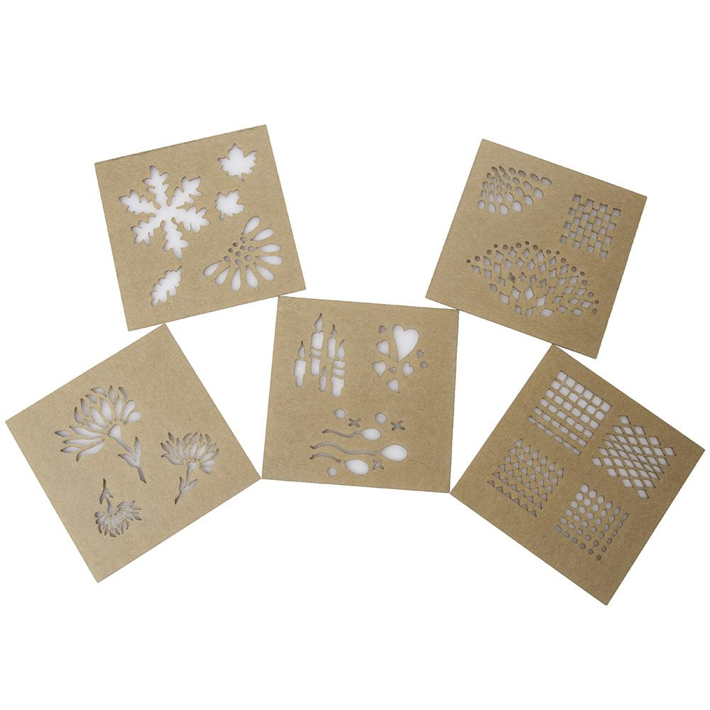 Design Stencils For Enameling By Eugenia Chan Reflections Set