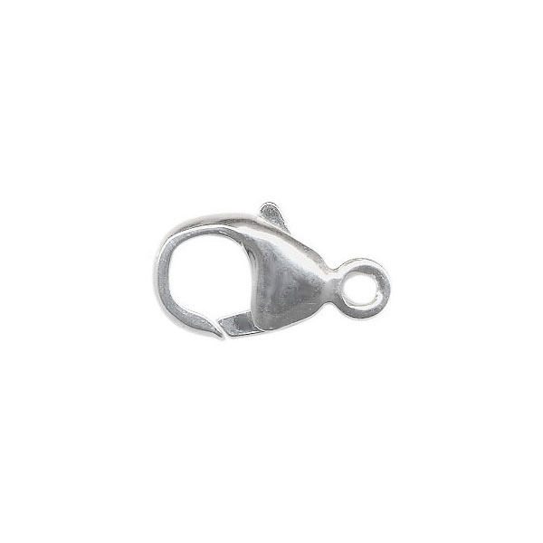 Lobster Clasp 9mm Sterling Silver Trigger Add Charm To Bracelet