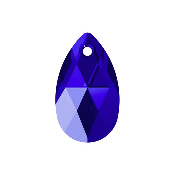 a8d8cd33d Swarovski 6106 Pear Pendant, 16mm - Majestic Blue