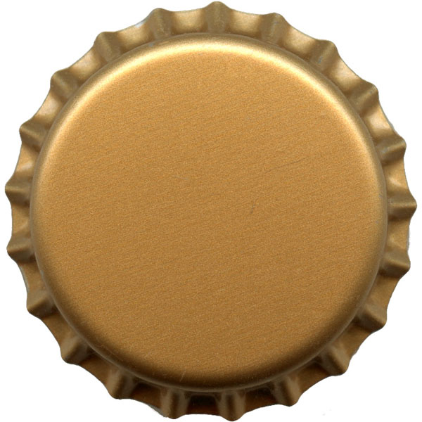 Bottle cap 32mm gold color clearance for Pictures of bottle caps